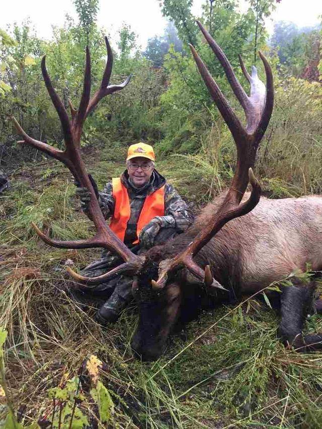 Elk Hunt In Knott County Ky David Giles With Giant Elk
